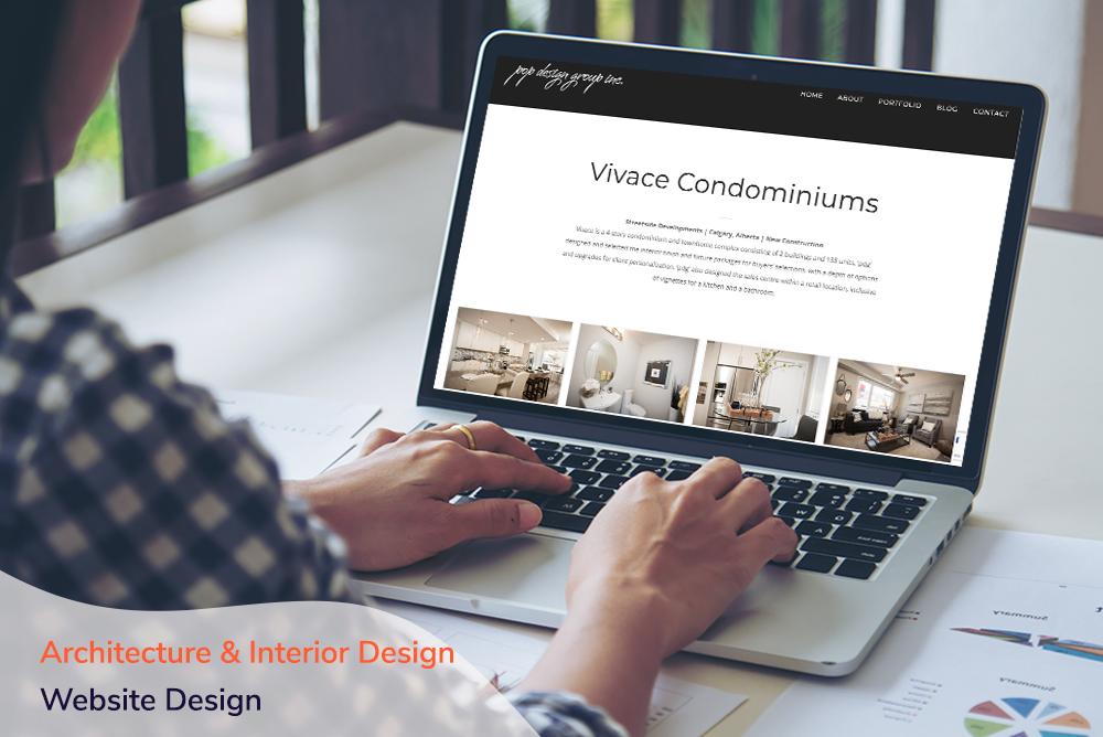 Architecture & Interior Design Website Design
