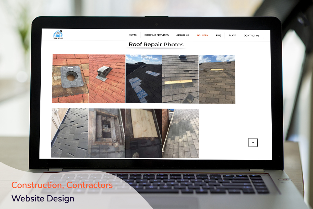 Construction, Contractors Website Design