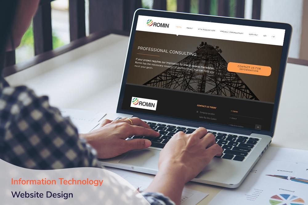 Information Technology Website Design