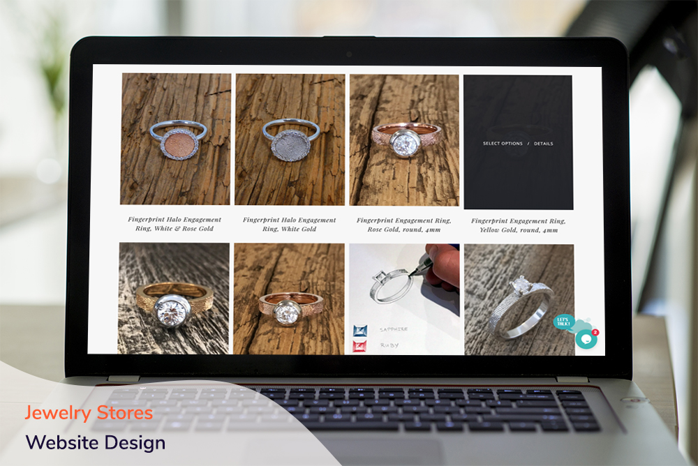 Jewelry Stores Website Design