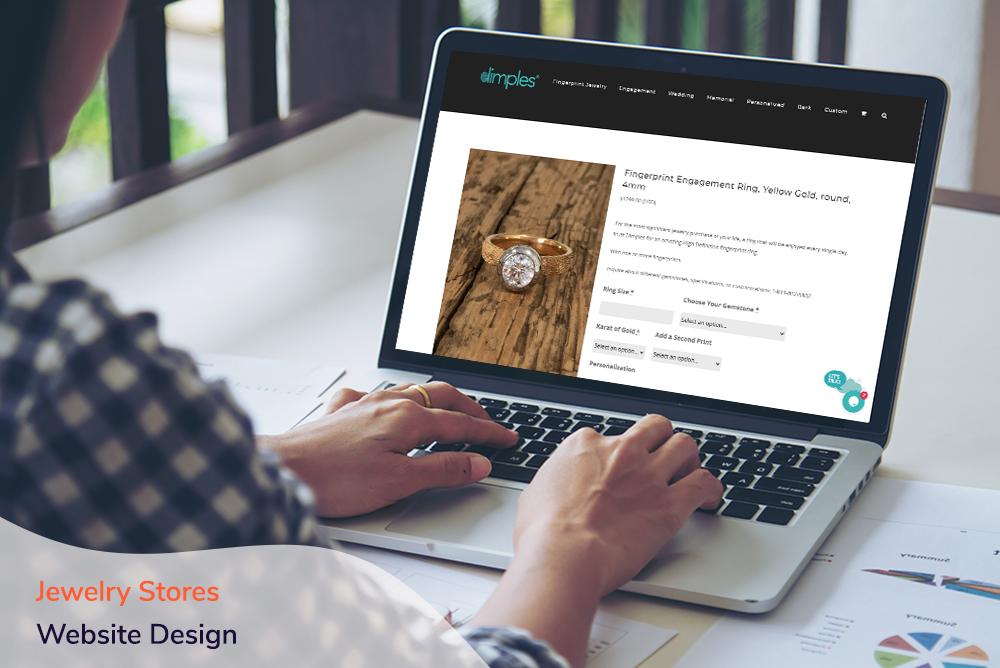 AgileGrow - Jewelry Stores Website Design